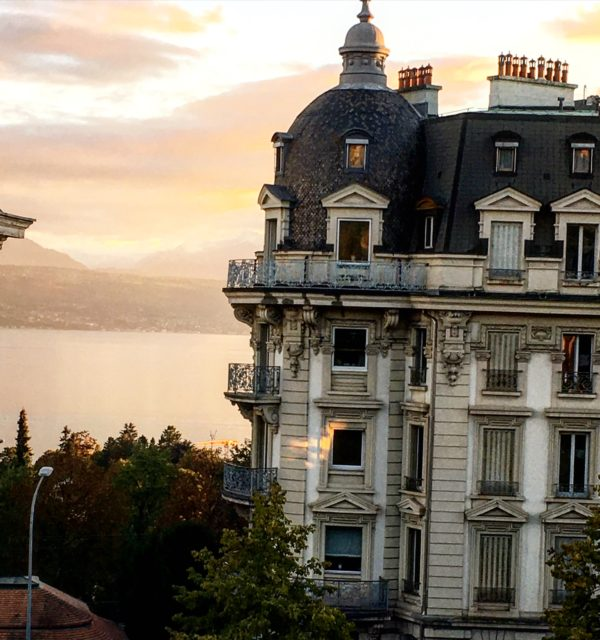 View from Airbnb, Lausanne